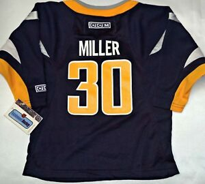 separation shoes d9fd5 9ca4e Details about NWT RYAN MILLER RETRO BUFFALO SABRES CCM 2-4T TODDLER/BOY NHL  LICENSED JERSEY