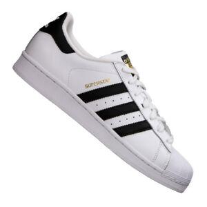 adidas Originals Superstar Sneaker Weiss Schwarz