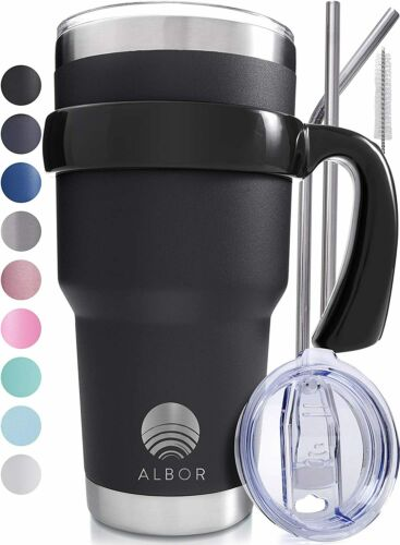 30 Oz Stainless Steel Tumbler 30 Oz Insulated Tumbler With Straw