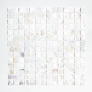 Mosaik-Fliese-Muschel-perlmutt-Wandverblender-Bad-Dusche-150-SM201-f-10Matten