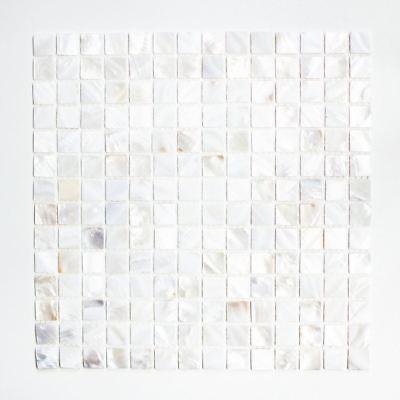 Mosaik Fliese Muschel beigebraun Wandverblender Dusche|150-SM2569/_f 10Matten