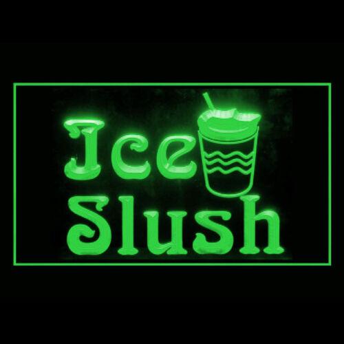110244 Ice Slush Sweet Cold Drink Frozen Mango Display LED Light Sign