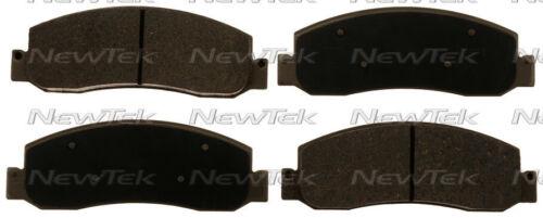 Disc Brake Pad Set-Galaxy Ceramic Disc Pads Front NewTek SCD1333