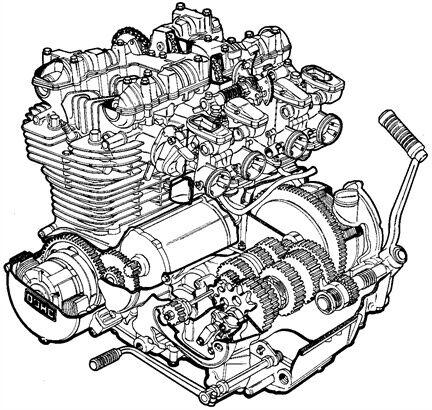 Restoration Parts Manual Kawasaki Z1 Z1a Z1r Z900 Z1000 Z1000r
