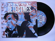 The River Detectives - Chains / Train Song, WEA YZ-383 Ex Condition 7""