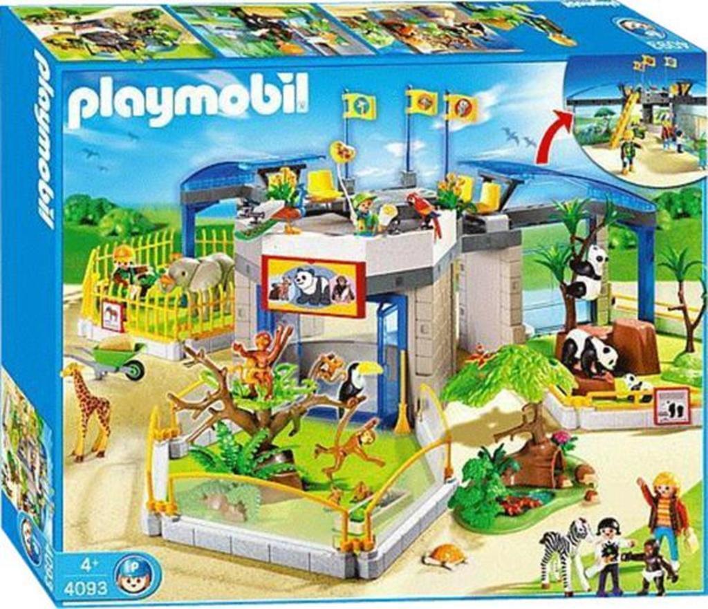 Playmobil 4093 Tierbabyzoo NEU & OVP Family Fun Zoo