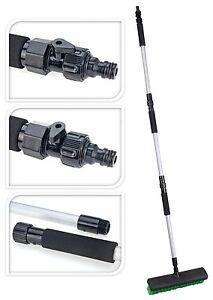 Heavy Duty Extendable Decking Patio Yard Brush Water Broom