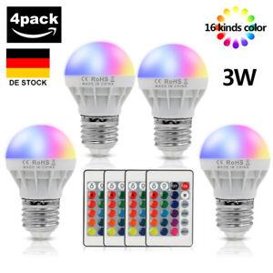 E27 Magic RGB LED Licht Birne 16 Colors Changing 5//9W Lampe w// IR Fernbedienung