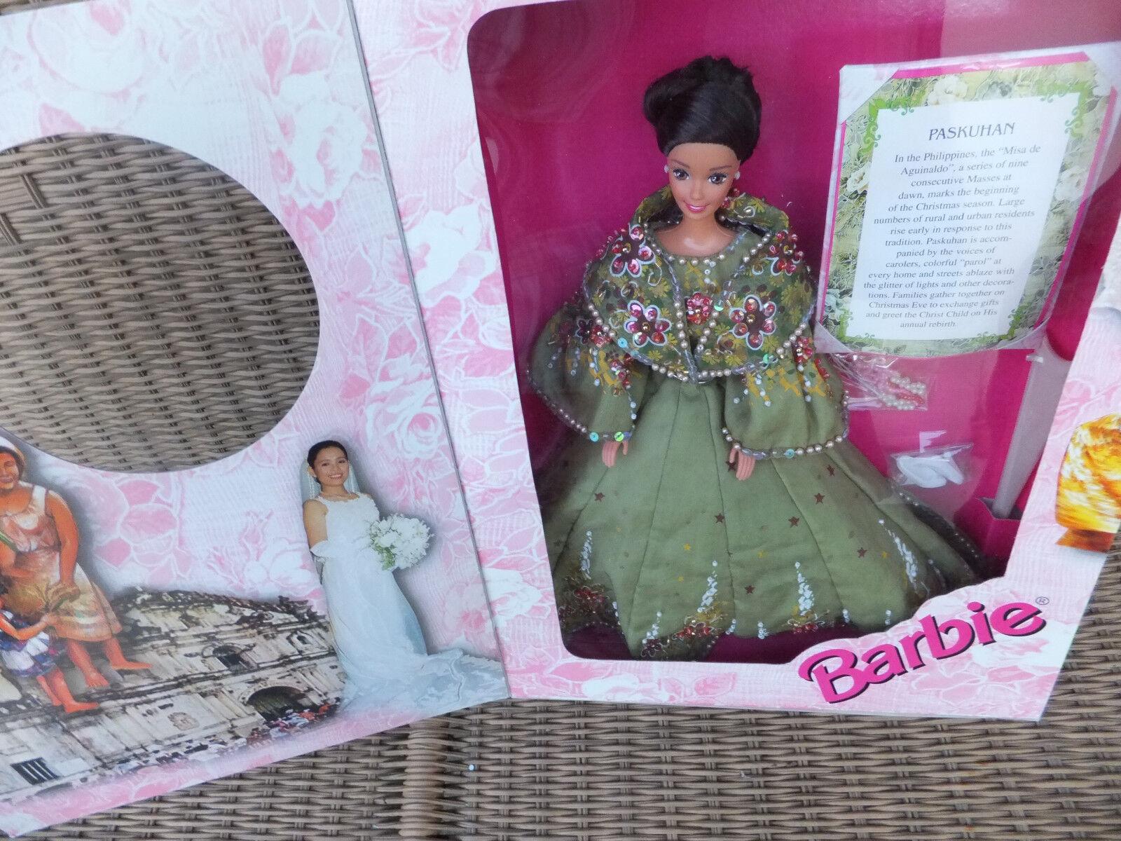 Tradisyong filipina Barbie 2000 paskuhan Edición Limitada 1000 NRFB MIB