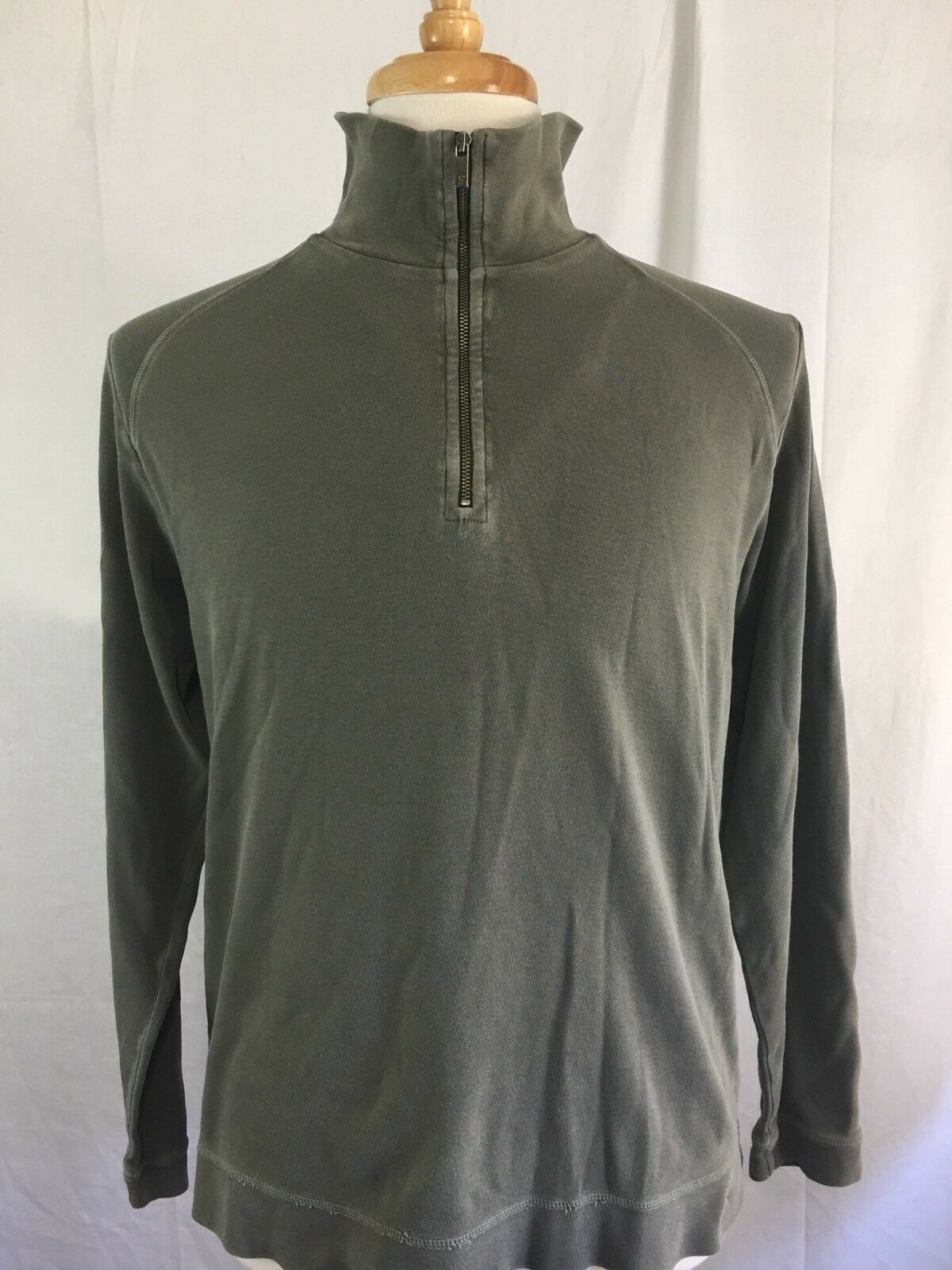 Faconnable Half Zip Sweater Size L