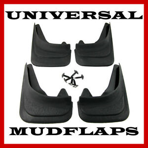 Top Quality Universal Subaru Car Moulded Rubber MUDFLAPS Full set