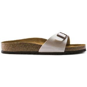 ORIGINALI-BIRKENSTOCK-MADRID-ANTIQUE-LACE-PIANTA-STRETTA-ciabatte-sandali-scarp