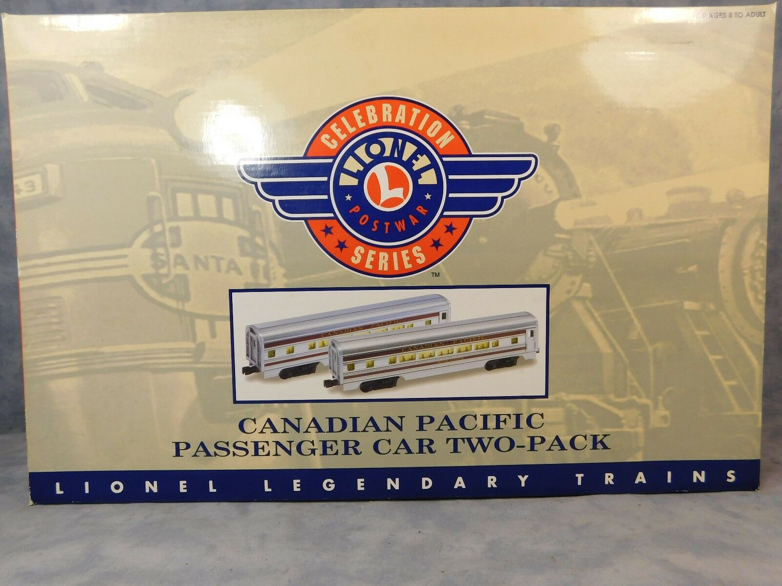 LIONEL CANADIAN PACIFIC PASSENGER CAR TWO-PACK 6-39106
