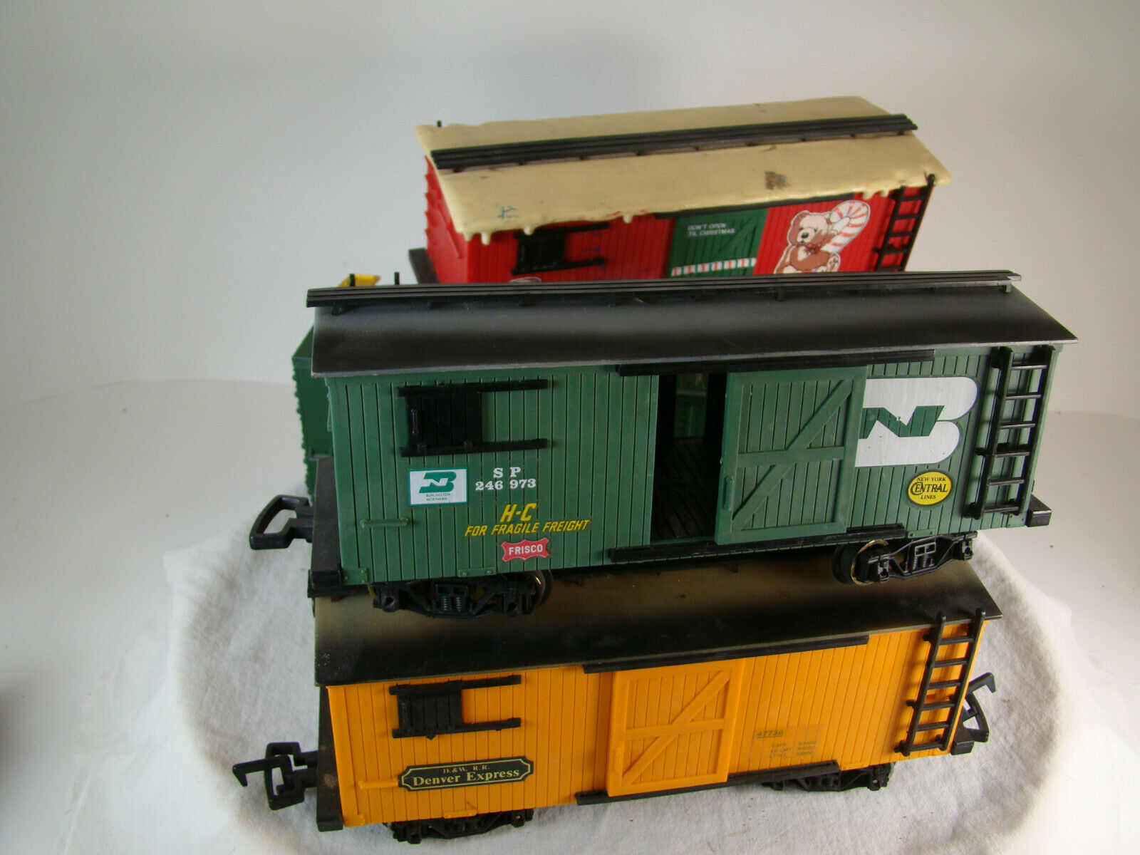 G scale Freight Cars - nice condition
