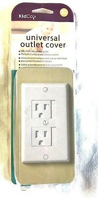 3 Pack KidCo Universal Outlet Cover White