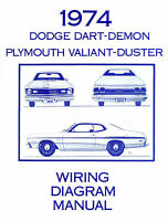1974 74 Plymouth Duster/dart Wiring Diagram