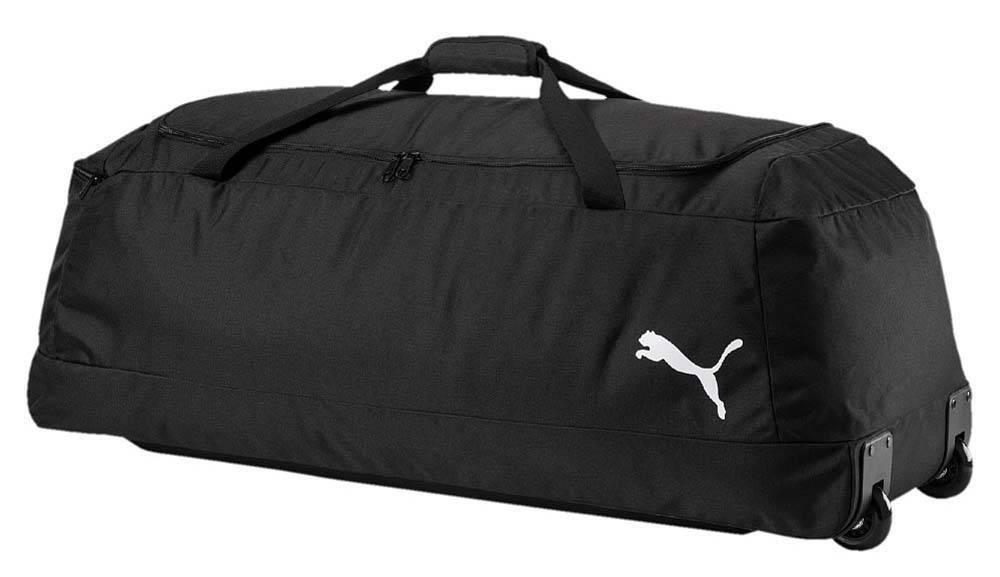 Puma Pro Training II X Large Wheel Bag Trolley Sporttasche mit Rollen schwarz