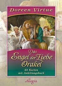 Das-Engel-der-Liebe-Orakel-Kartendeck-von-Virtue-Doreen-Buch-Zustand-gut