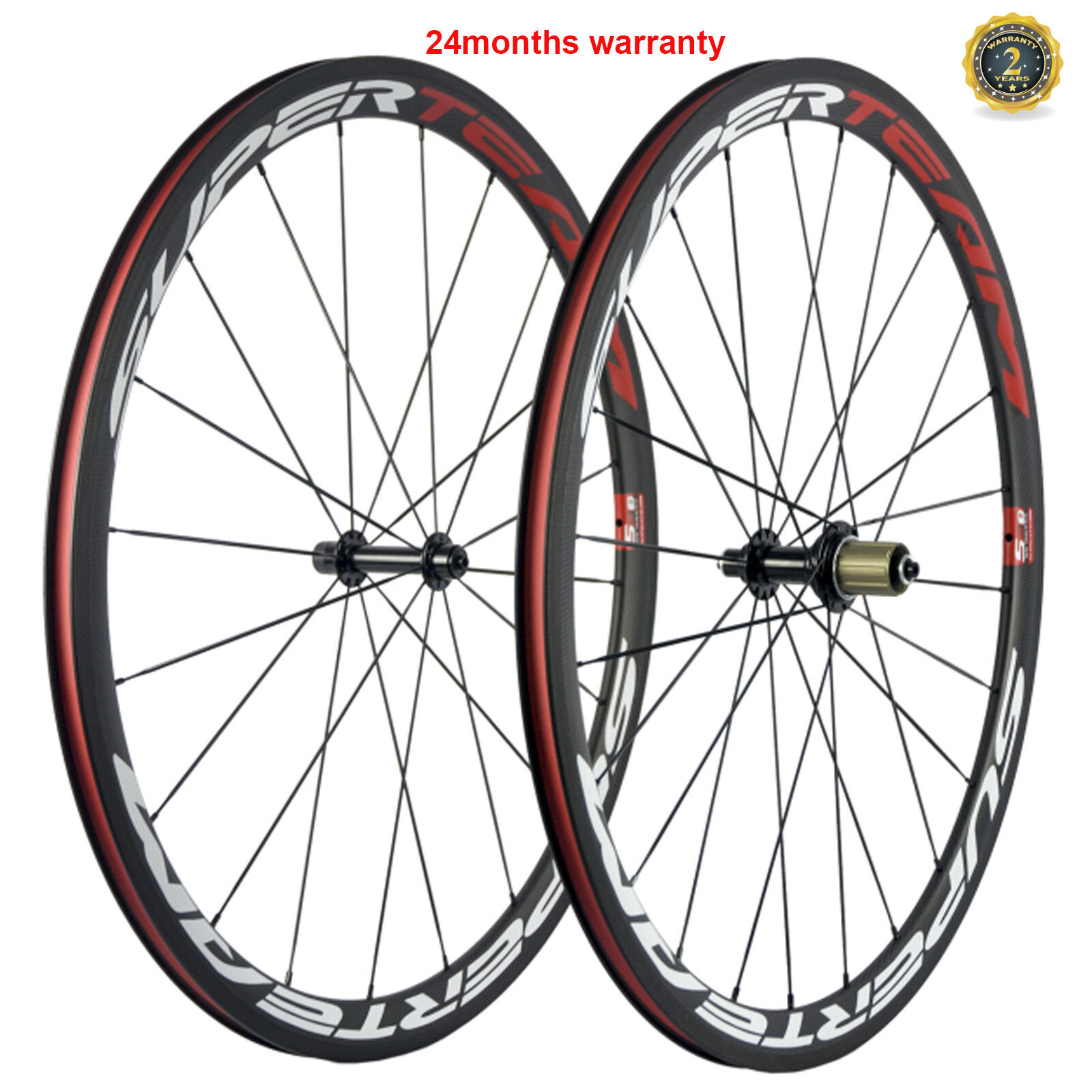 70C Karbonfiberhjul 38mm Carbon Bicycle Wheelset Clinger Road Cykel