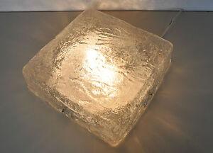 Plafoniere Deckenlampe : Ice glass plafoniere deckenlampe lamp shade eisglas leuchte kalmar