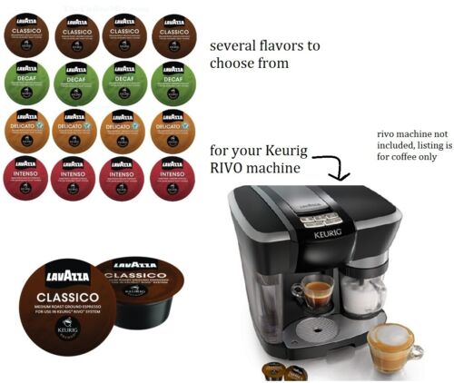 72 or 90 wholesale KEURIG RIVO machine lavazza Single cup Coffee capsule pods
