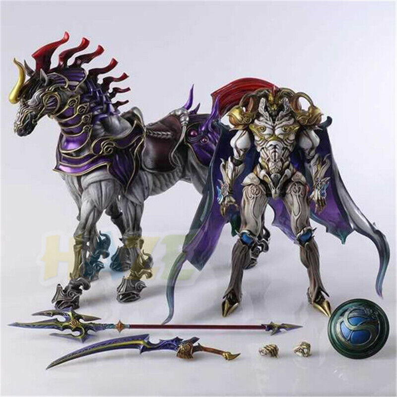 Final Fantasy XIII 13 Spielen Arts Kai Kampfgott Odin Action Figure Spielzeug