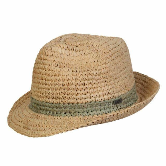 Buy Men s Conner Hats Madison Raffia Straw Beach Fedora Hat Natural ... 1a3c0c0c9d9