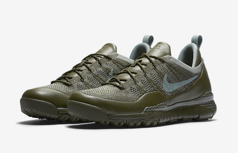 NIke MEN'S Low Lupinek Flyknit Low MEN'S Cargo Khaki/Mica Green SIZE 10 BRAND NEW f415ab