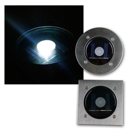 LED solaire sol-éclairage d/'installation-projecteur ip44 dämmerungs-Capteur navigable 2000kg