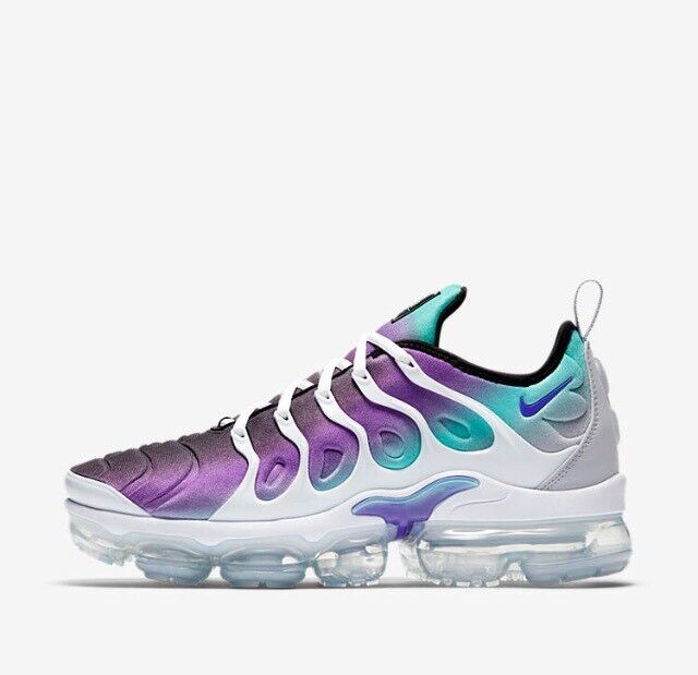 quality design 91de4 ab048 Nike Air Vapormax Plus White Fierce Purple 924453 101 Athletic Men's Size  13 WOB