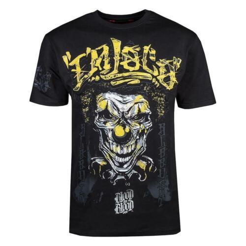 Blood dans Blood Out LOCO yellow T-shirt noir pour hommes