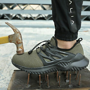 Mens-Work-Boots-Safety-Shoes-Steel-Toe-Cap-Lightweight-Breathable-Hike-Sneakers