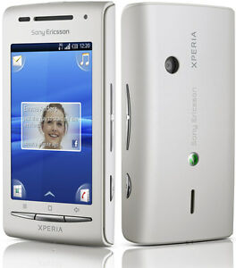unlocked sony ericsson xperia x8 gsm android smartphone white ebay rh ebay com Sony Xperia X8 Specifications Games for Xperia X8