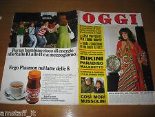 OGGI 1974/2=MITA MEDICI=ROD STEIGER LISA GASTONI=IVA ZANICCHI=GIULIETTA MASINA=
