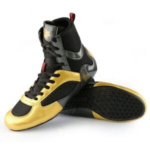 Hommes Boxe Lutte Chaussures Respirant Combat baskets High Top Combat