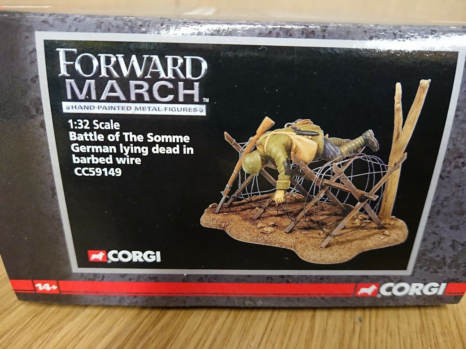 Corgi CC59149 Forward March Battle of the Somme Somme Somme German Soldier Ltd Edit. of 1250 be814a