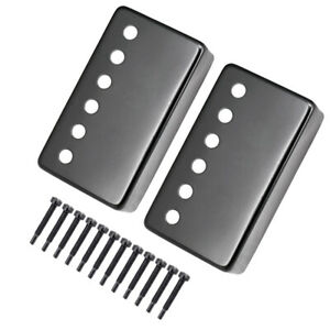 2x-Guitar-Humbucker-Double-Coil-Pickup-Cover-Lightweight-And-Durable-Black