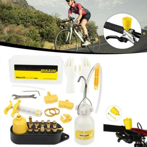 MTB Fahrrad Bleed Öl Kit Set Entlüftungskit für Shimano Tektro Scheibenbremsen