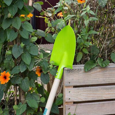 Schaufel für Kinder Kinder- Schippe Gartengerät in grün Kinderspaten