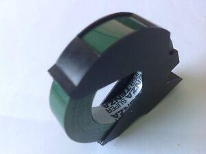 100% De Qualité Dymo Compatible 9 Mm X 3 M Cassette De Brillant Vert Embossing Tape-supertenza-afficher Le Titre D'origine
