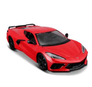 Maisto-1-18-2020-Chevrolet-Corvette-Stingray-Coupe-C8-Diecast-Model-Racing-Car