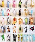 Hot Unisex Adult Pajamas Kigurumi suit Cosplay Costume Animal Onesie Sleepwear**