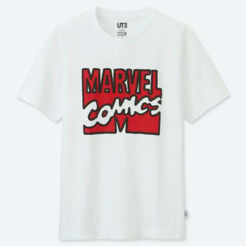 Marvel X Jason Polan UNIQLO UT Characters Official Short Sleeve Graphic T-Shirts