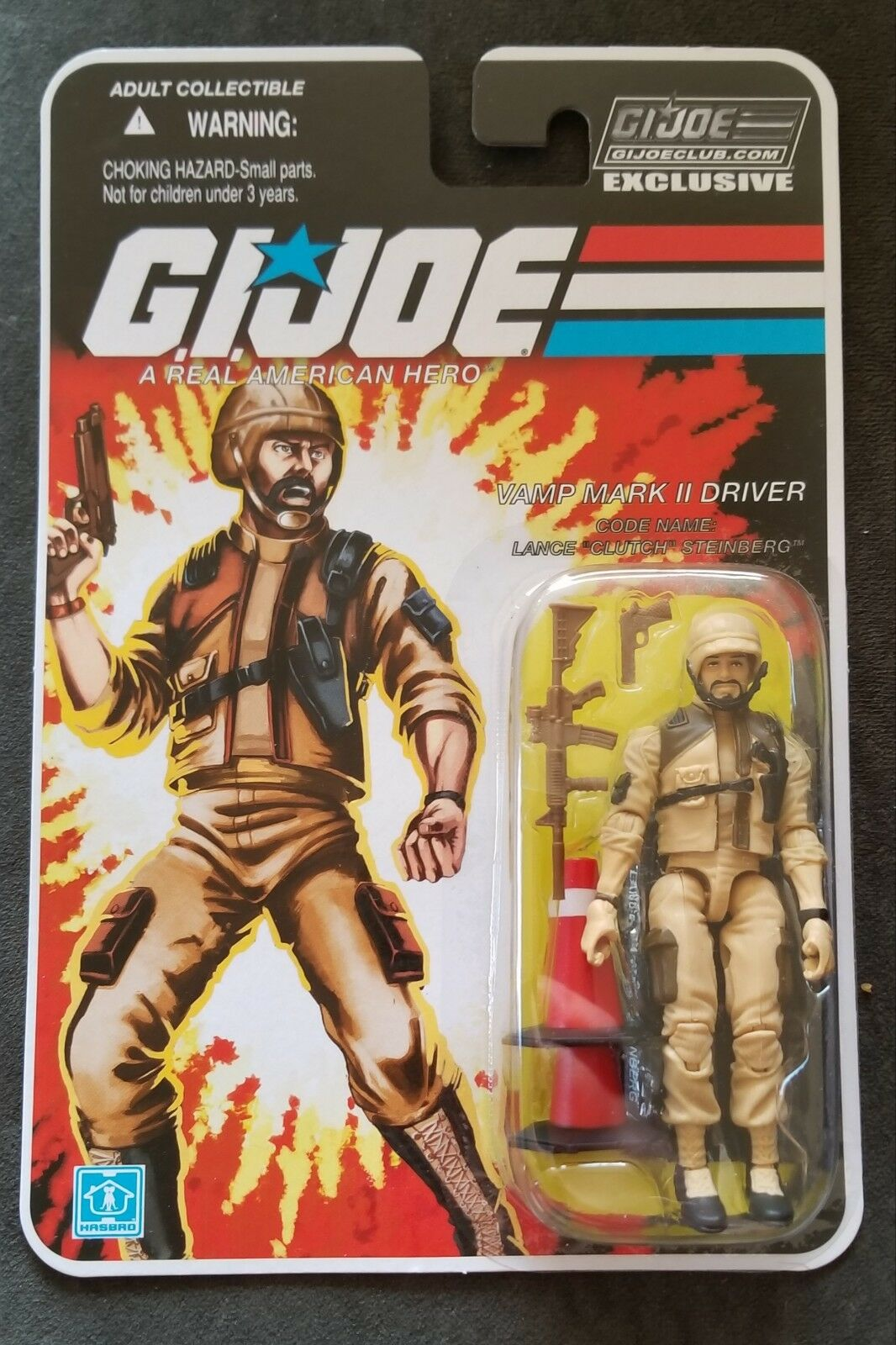 2018 GI Joe Collectors Club FSS 8.0 Tan Clutch 3.75in. Action Figure