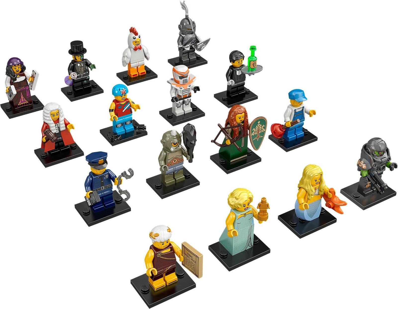 Lego Minifigures - SET 71000 - SERIE 9