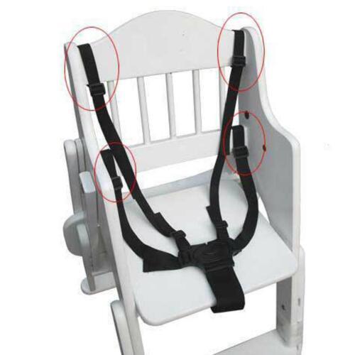 5 Punkt Baby Safe Gürtel für Kinderwagen Hochstuhl Pram Buggy Strap-Infant