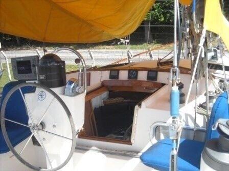 motorsejler Nauticat 40, årg. 1986, andet materiale