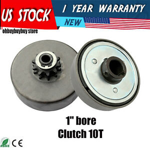 Go Kart Parts 1 Quot Bore Centrifugal Clutch Belt Drive With Pulley Gokart Oh Ebay