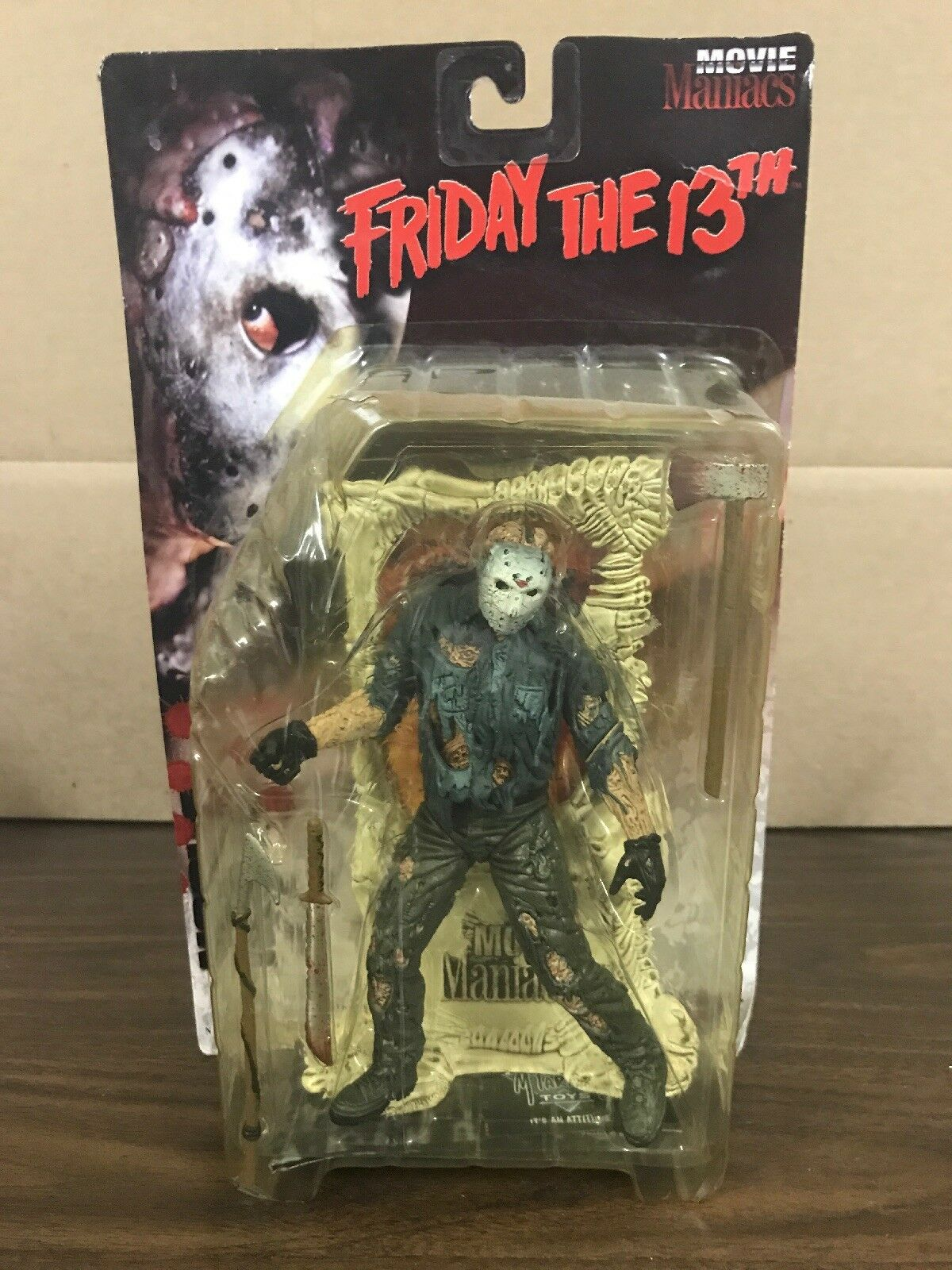 McFarlane Toys Movie Maniacs Friday The 13th Jason Voorhees Action Figure