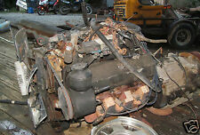 Chevy GM 366 Motor & Transmission Complete Removed From 91 Bluebird School Bus